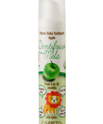azeta bio organic toothpaste 0-36 months apple