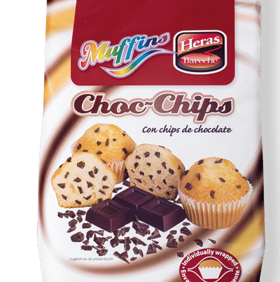 heras chocolate chips muffin
