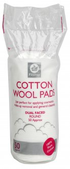 cotton wool pads round fitzroy