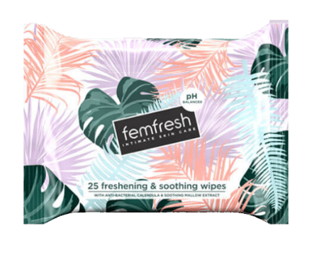 femfresh daily intimate wipes 25 pieces-w440-h500