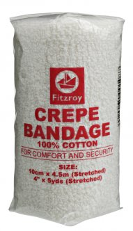 fitzroy cotton crepe bandage
