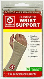 fitzroy elasticated wrist support
