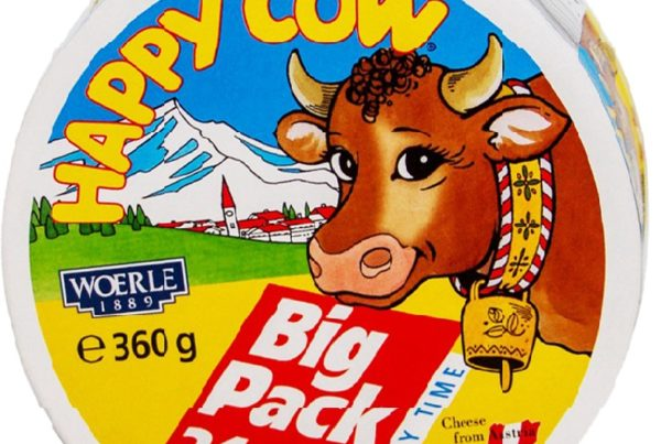 happy cow cheese big pack 360g