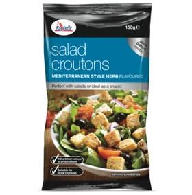la rochelle salad croutons mediterranean croutons