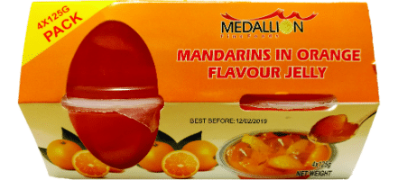 medallion fruit jelly mandarin in orange jelly-w440-h500