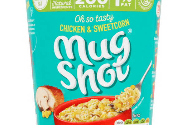 mug shot chicken and sweetcorn noodles