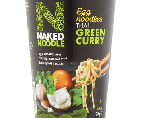 naked noodle thai green curry pot
