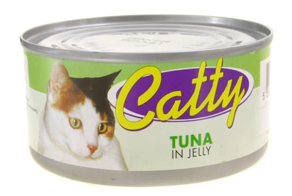 catty pet food in jelly tuna