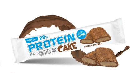 protein cake chocolate and coconut-