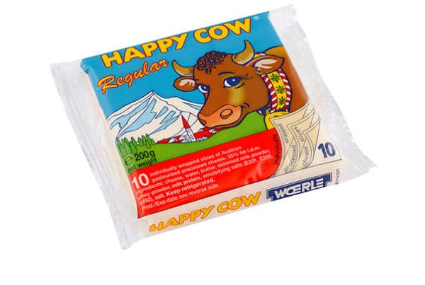happy cow regular slices