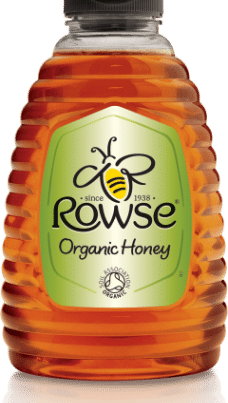 rowse clear organic honey340gr in squeezable-w440-h500