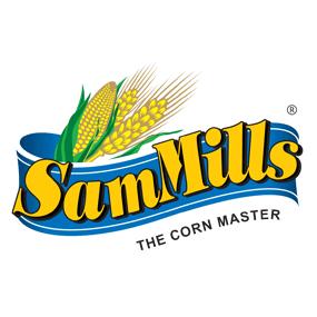 sam mills gluten free pasta logo