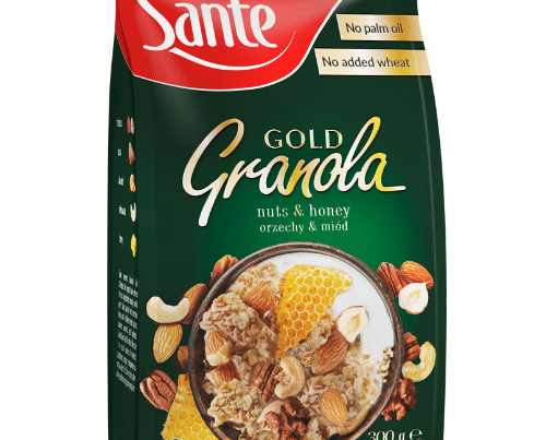 sante granola gold nuts and honey 300gr