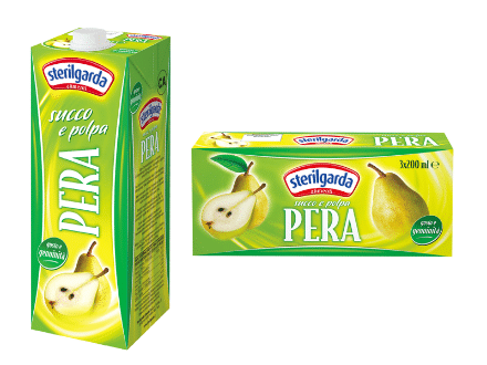 sterilgarda pear juice large and small pack