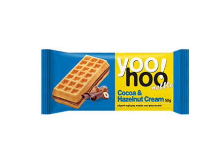 yoohoo choclate and hazelnut waffles-w