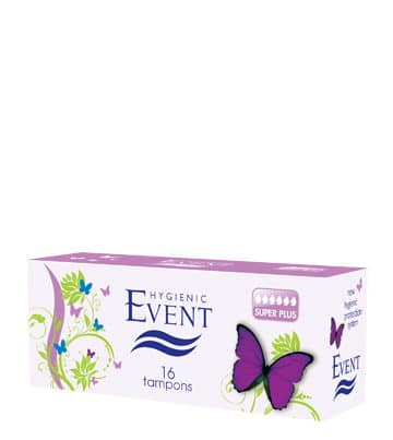 event super plus tampons x 16pieces