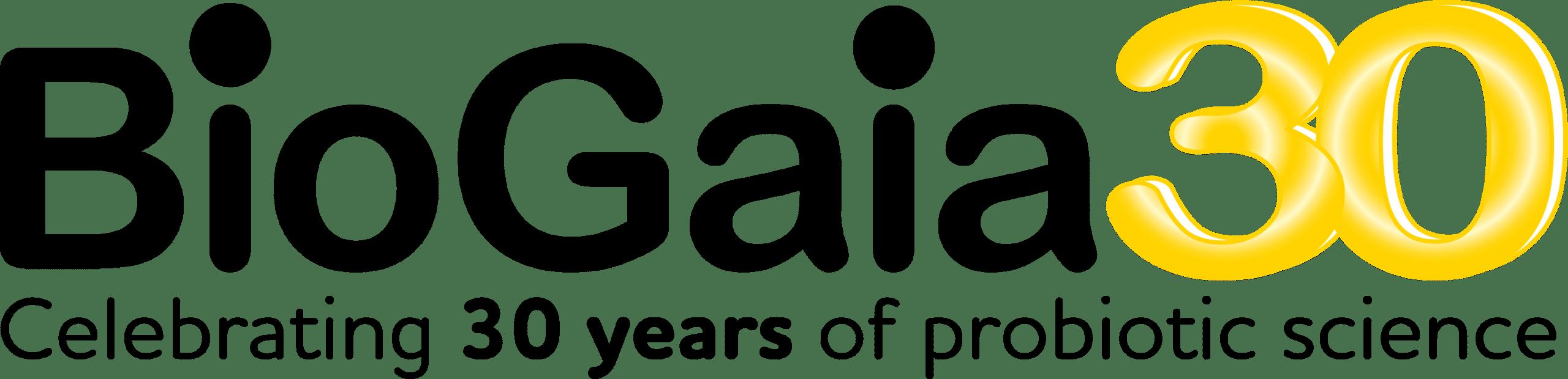 BioGaia 30 years_logo