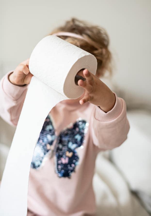 Biogaia probiotics toilet paper
