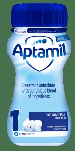 Aptamil liquid ready to feed 1